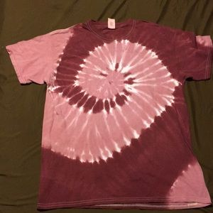 Women's hand dyed T-shirt large